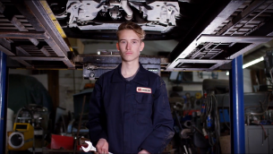 TRAIN FOR A CAREER IN AUTOMOTIVE TECHNOLOGY